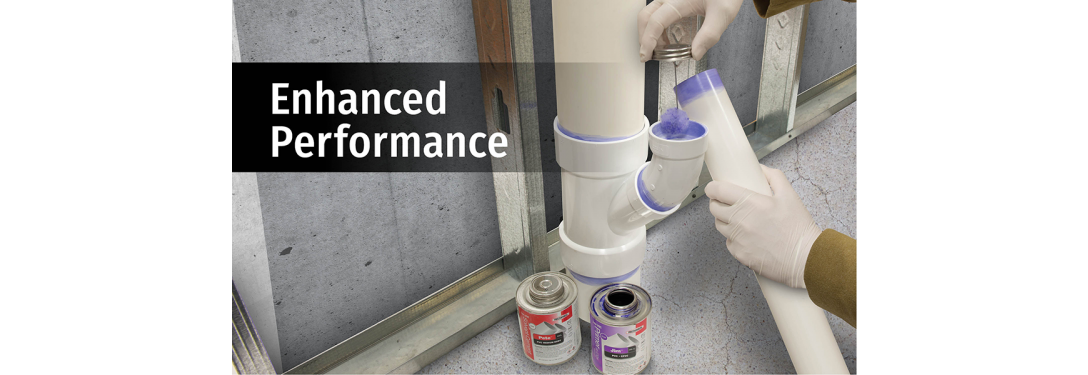 RectorSeal's Enhanced Solvent Cements and Primers Offer Additional Performance