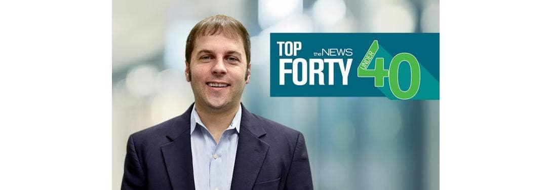 Jeff Underwood portrait for THE NEWS top 40 under 40