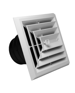 Air Diffusers - With Exhaust Grill / 3 Way
