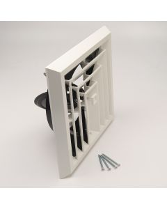 Airtec 8X8 3 Way Grille with Damper