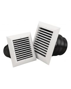 Air Diffusers - Square / 1 Way