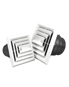 Air Diffusers - With Exhaust Grille / 3 Way